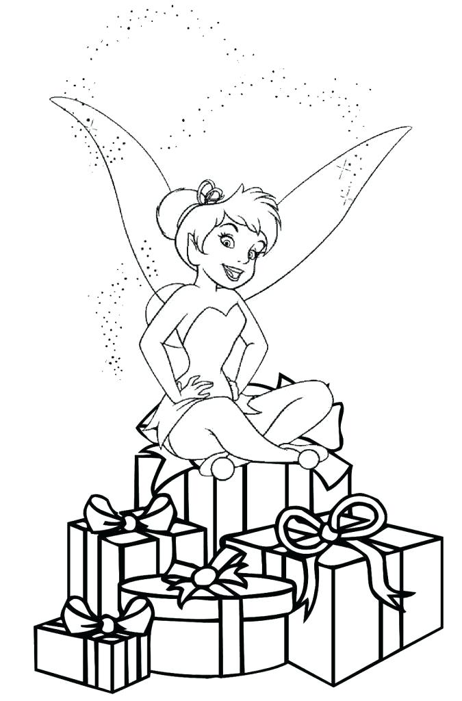 675x1024 Tinker Bell Coloring