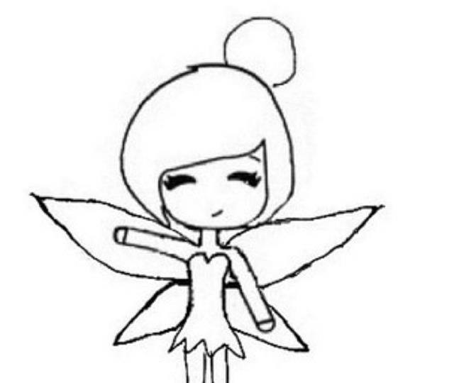 640x540 Tinkerbell Drawing Chibi For Free Download