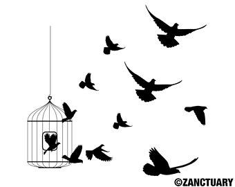 340x270 Small Bird Tattoo Etsy