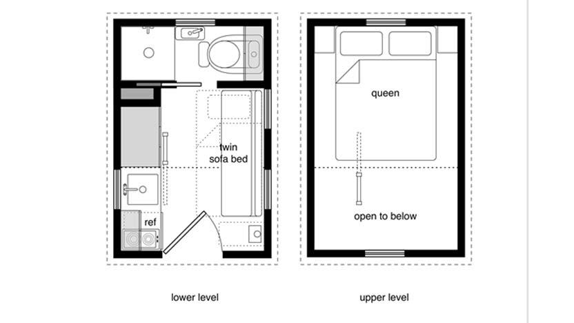 832x468 tiny house floor plans diy tiny house plans