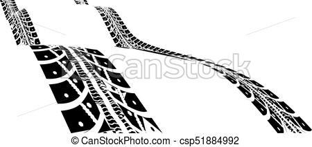 450x213 tire tracks vector illustration tire tracks vector illustration