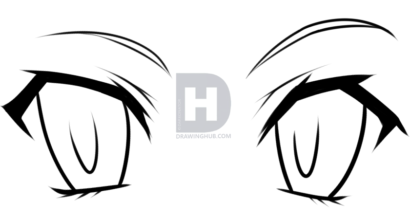 840x450 How To Draw Anime Eyes For Beginners, Step