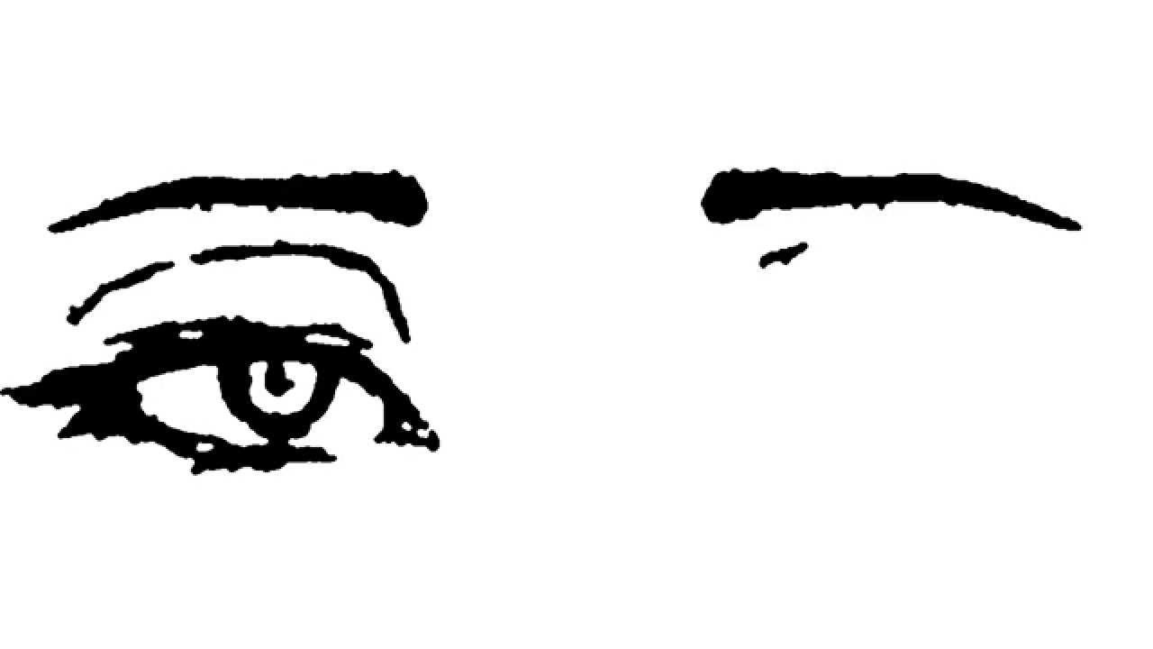 1280x720 Tired Drawing Tired Eye For Free Download