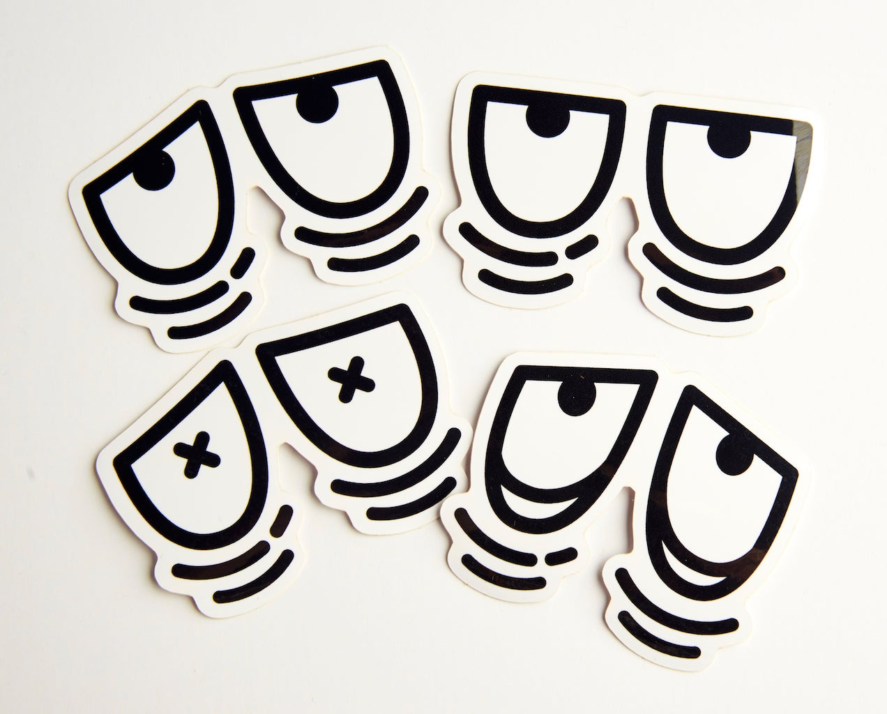 1272x1024 Sticker Pack Tired Eyes