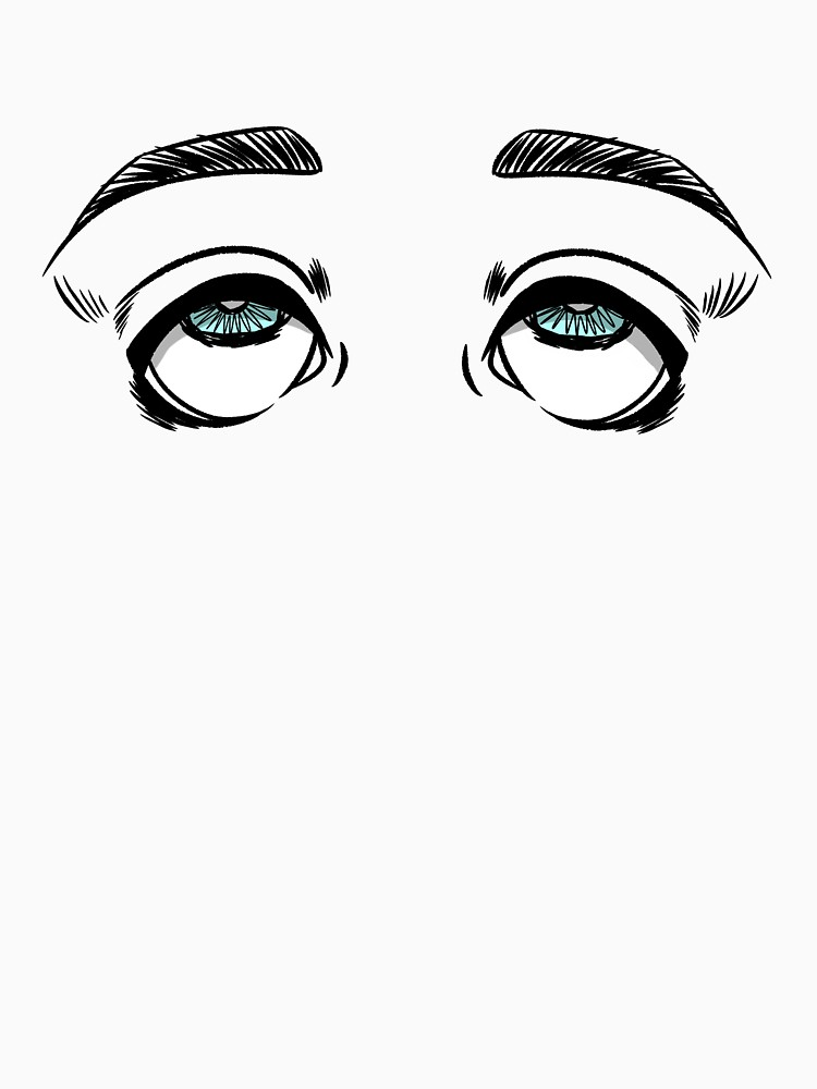 750x1000 Tired Eyes Doodle T Shirt
