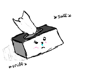 Tissue Box Drawing