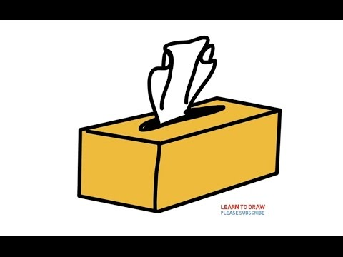 480x360 How To Draw A Tissue Box Step