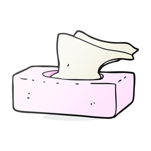 300x300 Box Of Tissues Royalty Free Vectors