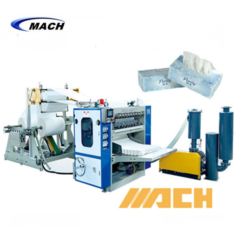 800x800 Ce Box Drawing Type Automatic Facial Paper Tissue Making Machine