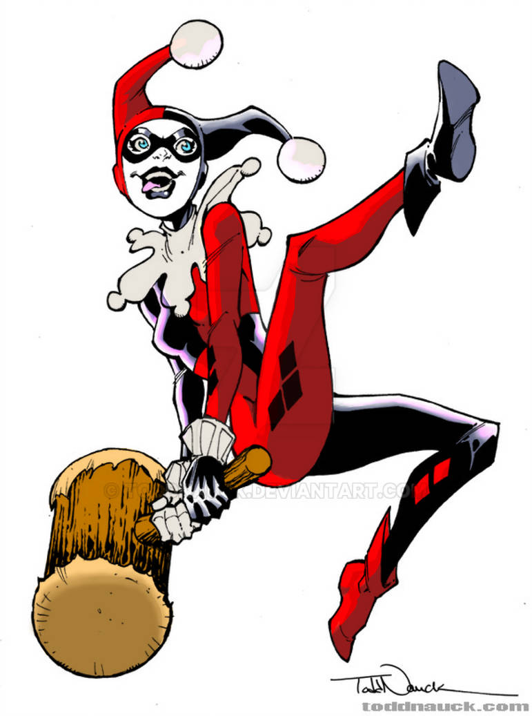 771x1037 My Colors For Todd Nauck Harley Quinn