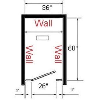 347x347 Bathroom Partition Dimensions For Commercial Restroom Stalls