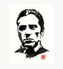 210x230 Al Pacino Drawing Art Prints Redbubble