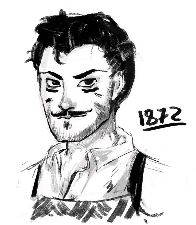 Tony Stark Drawing