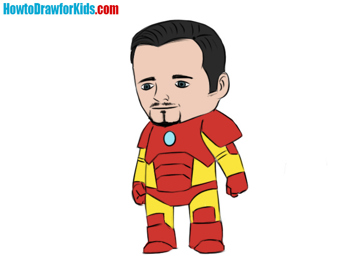 700x500 How To Draw Iron Man How To Draw For Kids