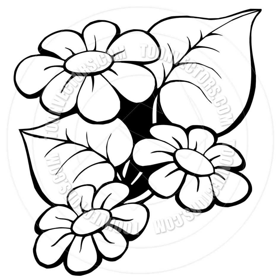 940x940 Cartoon Flower Drawings Cartoon Floral Motiveclairev Toon