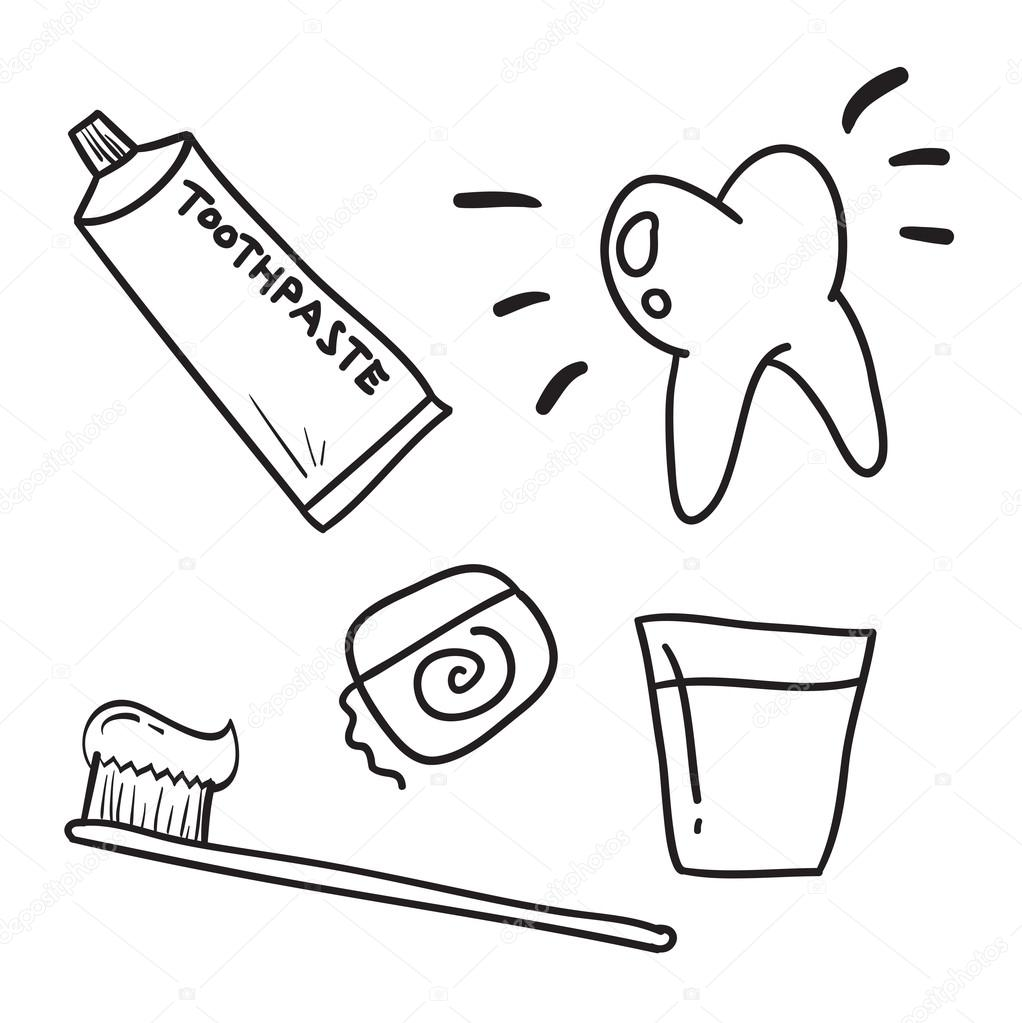 Toothbrush Drawing