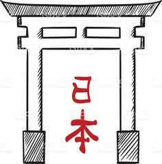 Torii Gate Drawing