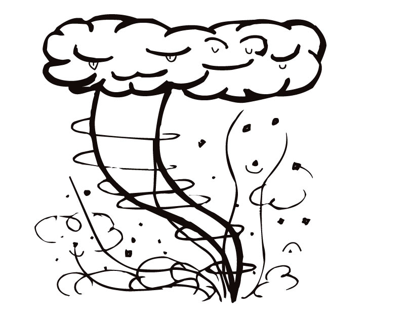 810x630 storm coloring pages tornado and storm coloring