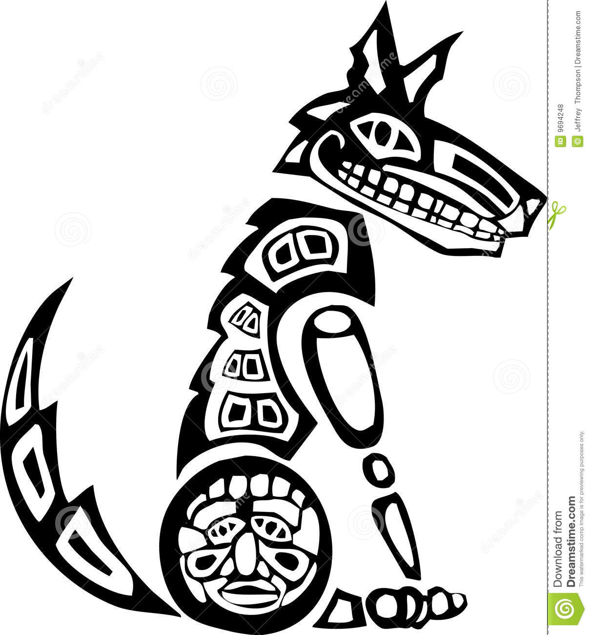 Wolf Totem Drawing Free Download Best Wolf Totem Drawing On