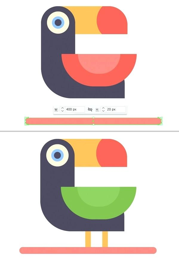 600x880 How To Draw A Toucan Step