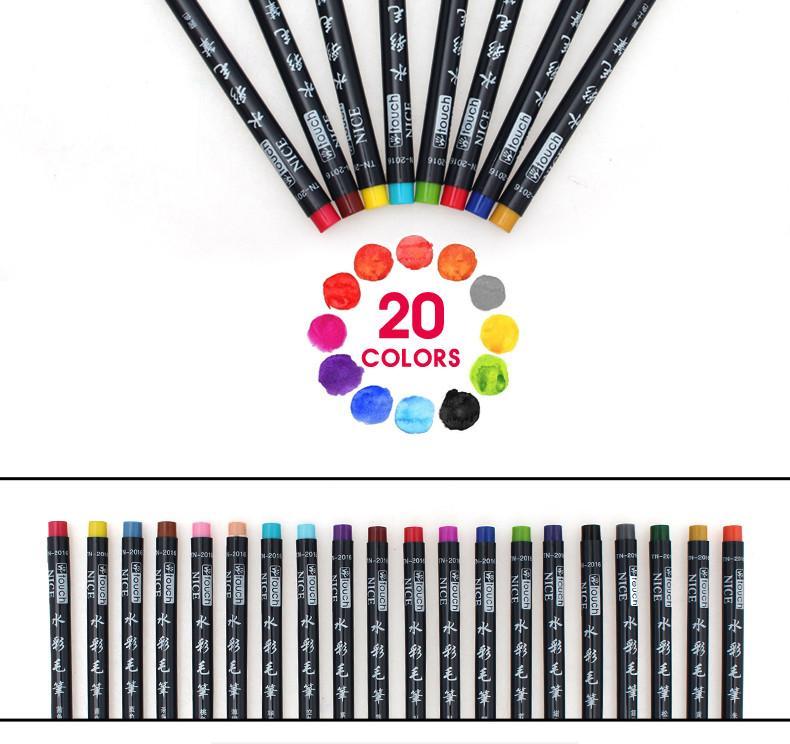 790x744 bianyo colors brush pen sketch drawing watercolor marker set