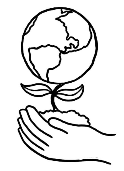 434x600 earth day drawings on earth day