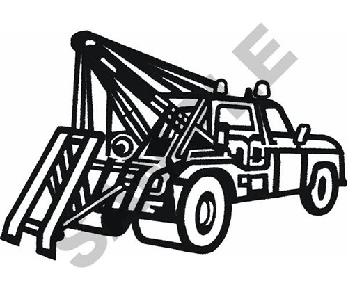 Tow Truck Drawing
