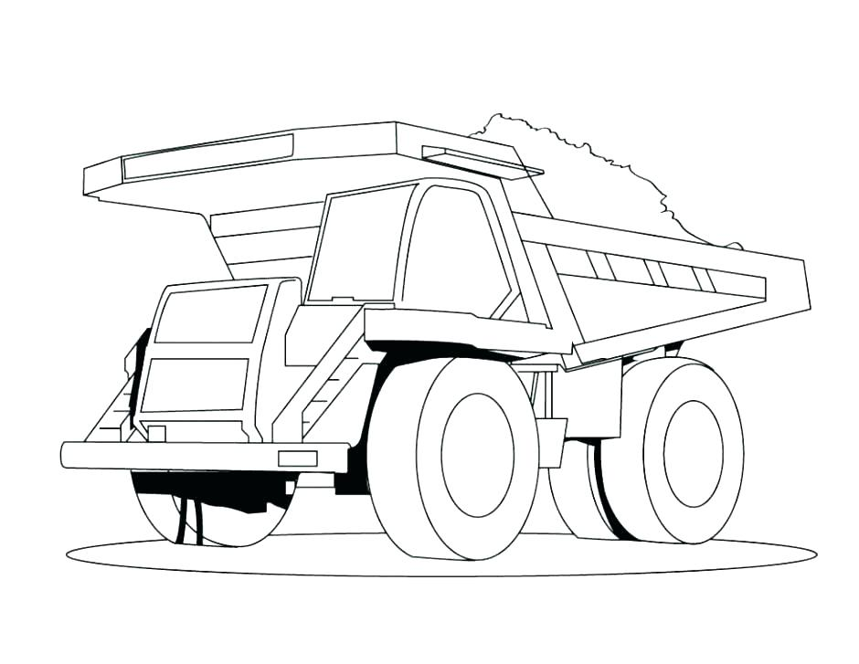 940x727 tow truck coloring pages truck coloring pages tow truck coloring