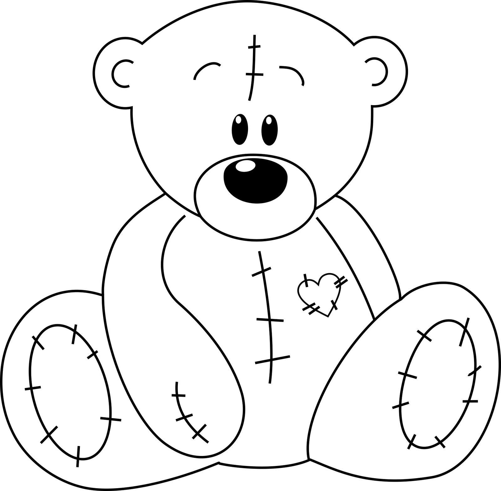 Toy Bear Drawing