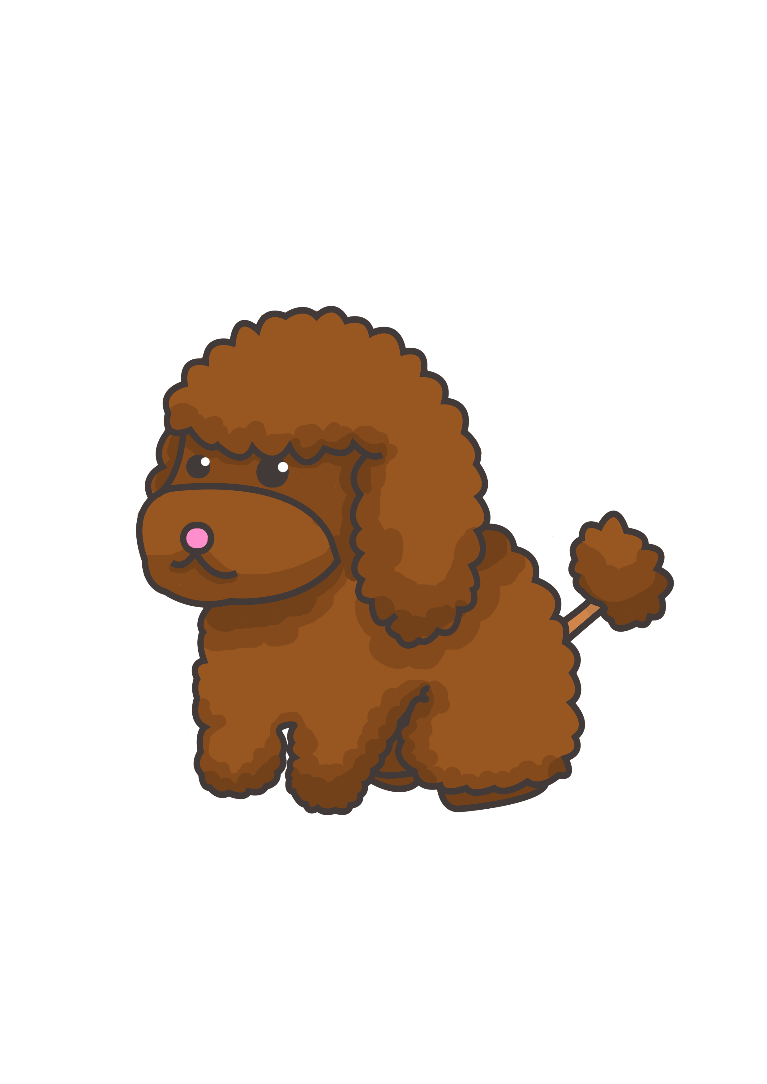 Toy Poodle Drawing Free Download Best Toy Poodle Drawing