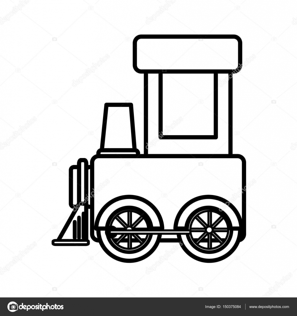Toy Train Drawing