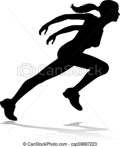 385x470 runner racing track and field silhouette silhouette runner