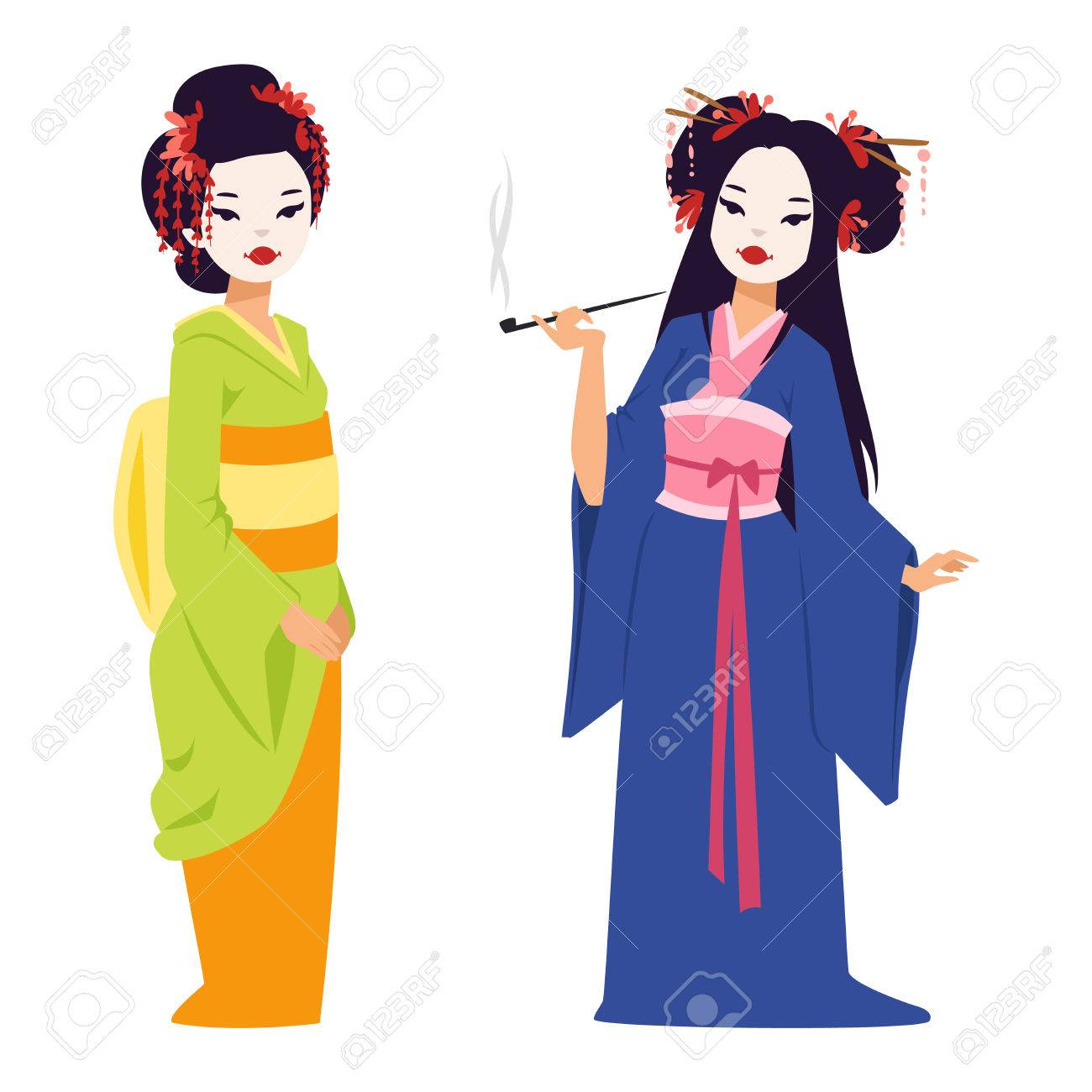 1300x1300 Huge Collection Of 'japanese Geisha Clipart' Download More Than