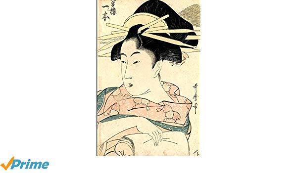 600x350 Japanese Art Woodblock Notebook Japanese Ukiyo Style