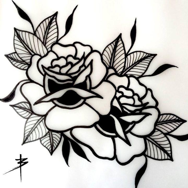 720x720 Rosas Tradicionales Uriel Tatuajes De Rosas