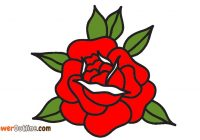 200x140 Traditional Rose Outline Camera Clipart House Clipart Online