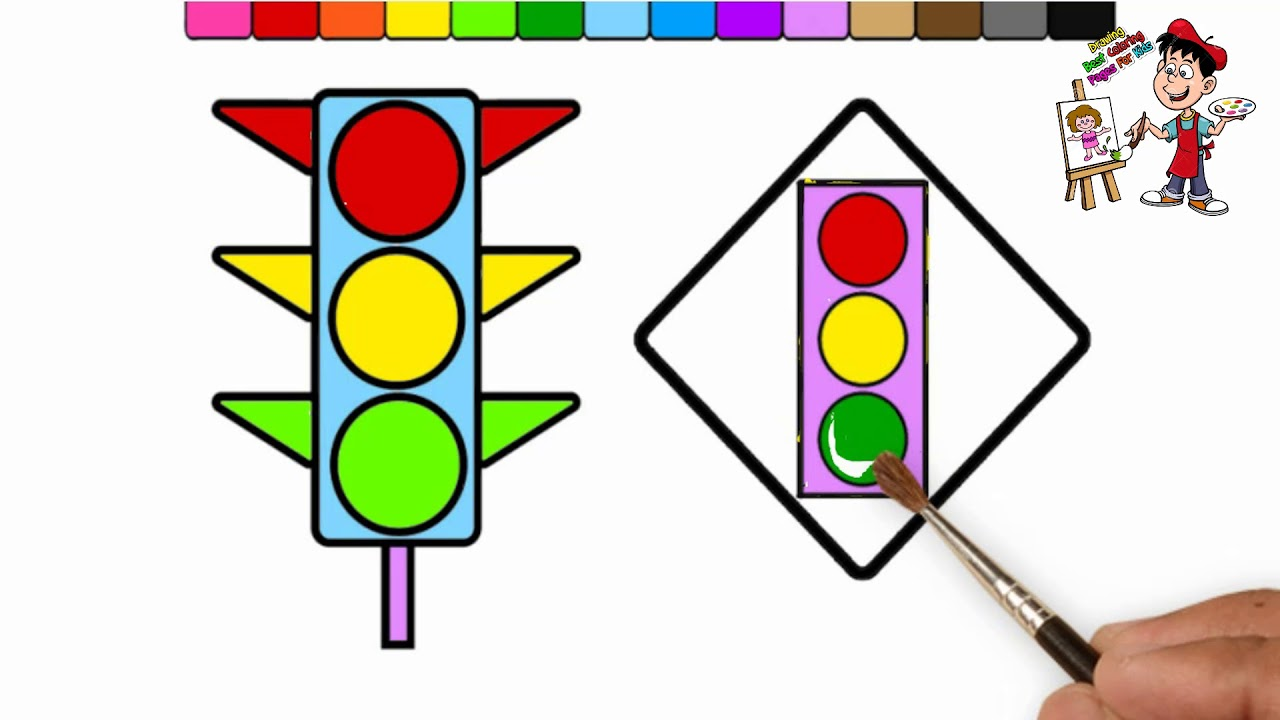 Traffic Light Drawing