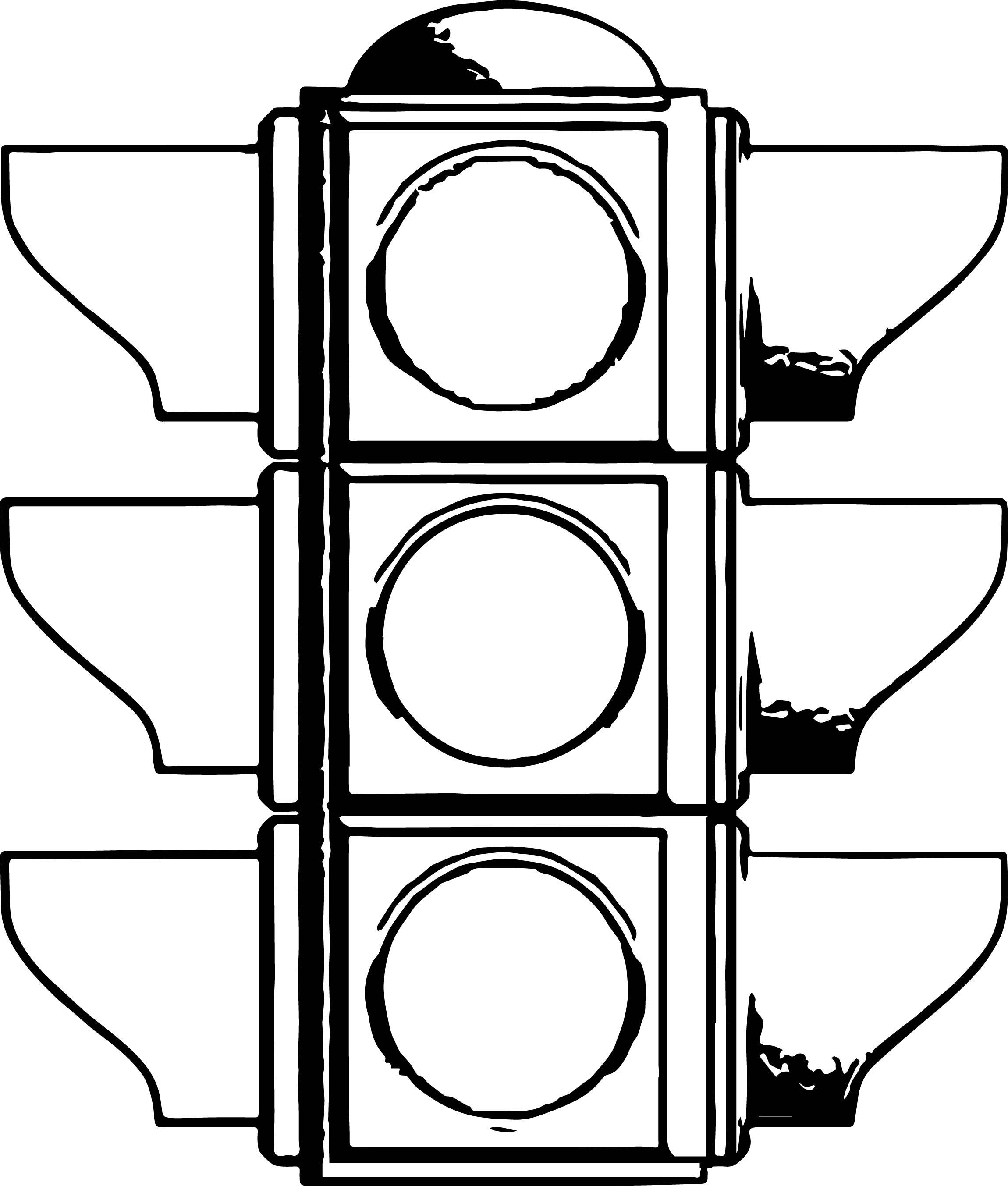 Traffic Signal Drawing | Free download best Traffic Signal ...