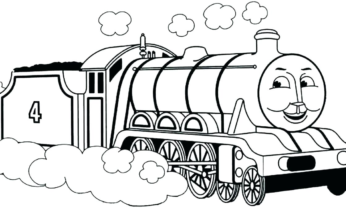 Train Drawing For Children Free Download On Clipartmag