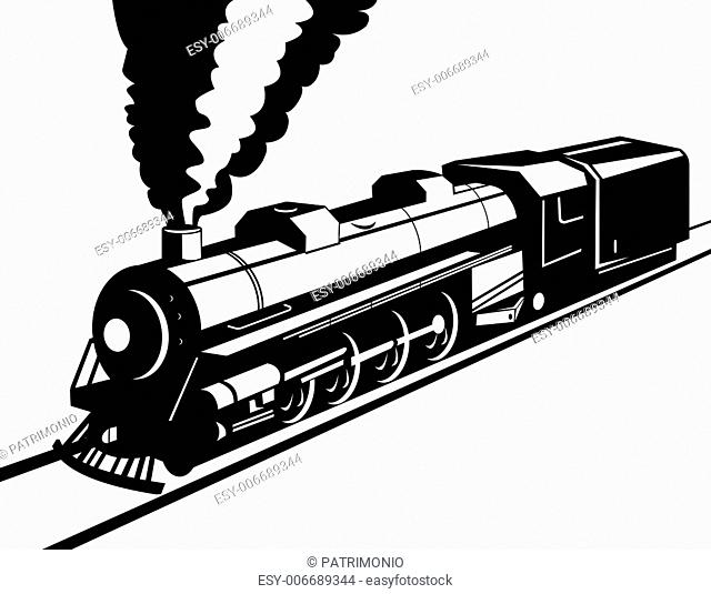 Train Engine Drawing