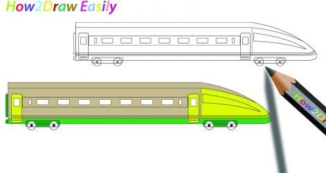 471x250 Subway Train Easy Drawing Steps To A Toy Track Way Of I Fertility