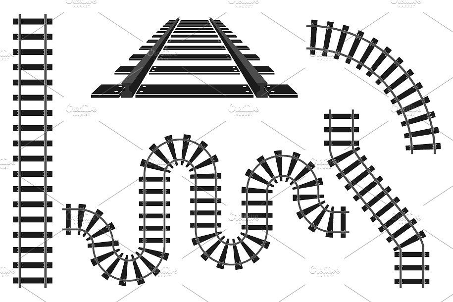 915x610 Train Railway Road