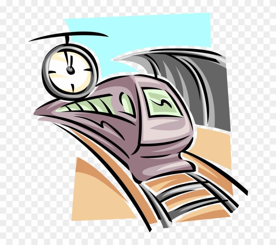 880x780 Vector Illustration Of Rapid Transit Subway Railroad