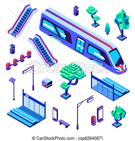 450x470 metro train station isometric illustration metro train station