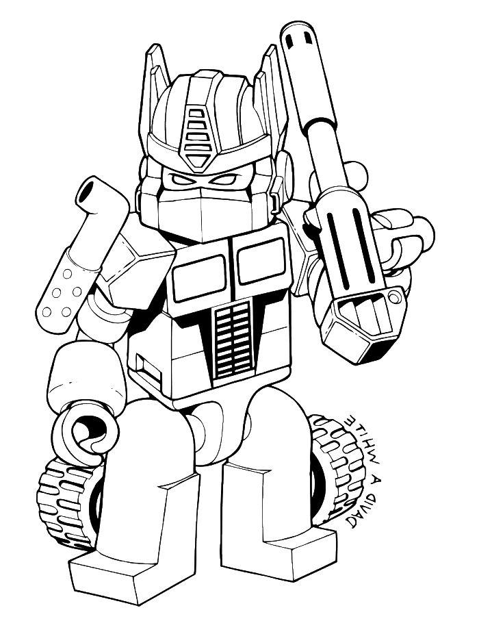 Transformers Optimus Prime Drawing Free Download Best
