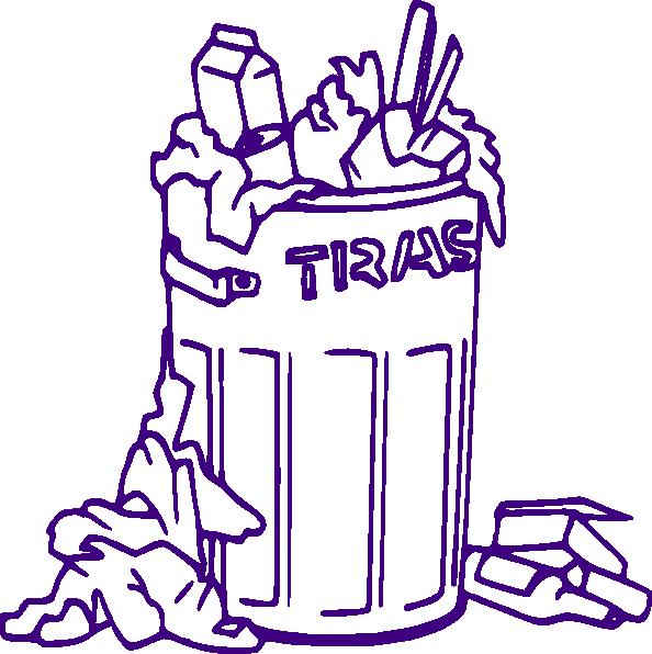 594x596 Rubbish Bin Clip Art