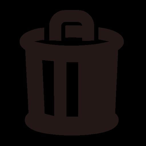 512x512 Trashcan Drawing Rubbish Dump Transparent Png Clipart Free