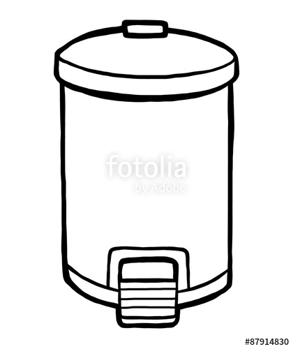 420x500 Trash Can Stock Image And Royalty Free Vector On Fotolia