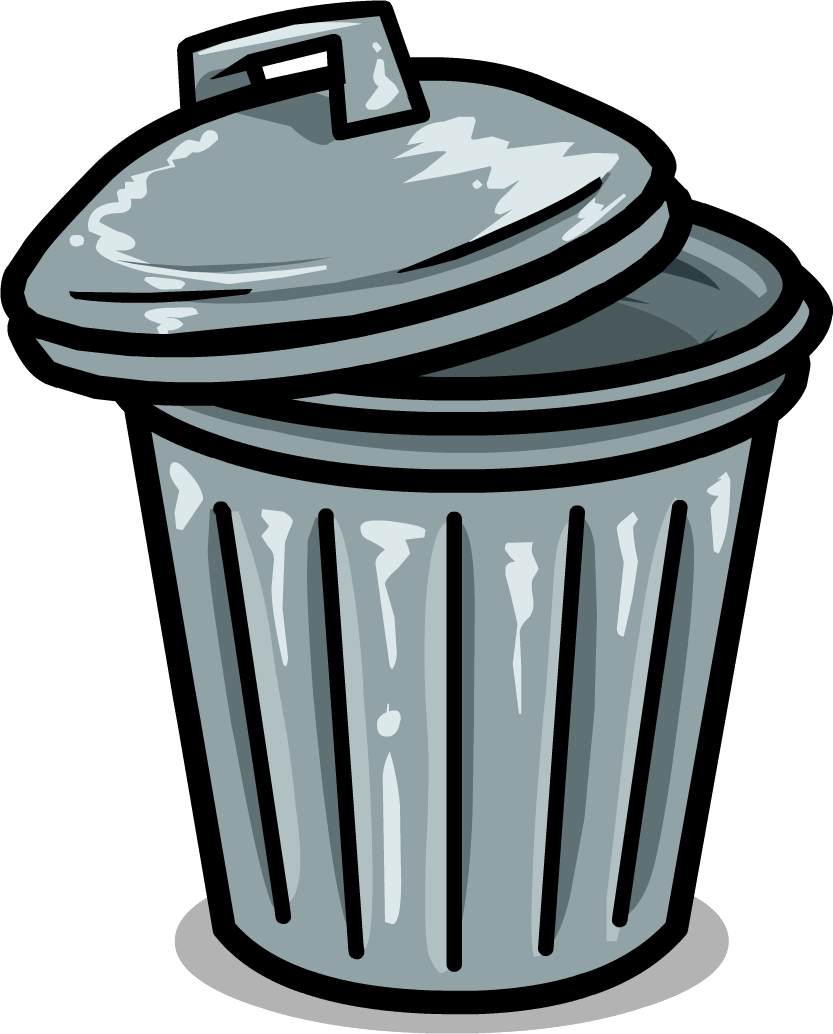 Trash Can Drawing | Free download on ClipArtMag
