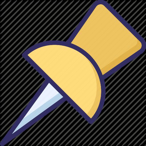 512x512 Drawing Pin, Map Pin, Paper Pin, Push Pn